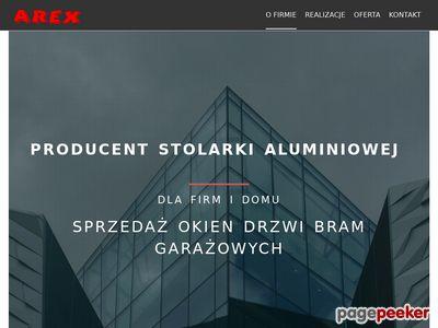 Stolarka Aluminiowa - Arex