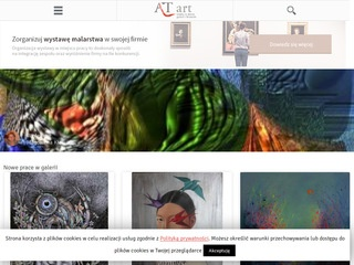 Galeria internetowa AT art