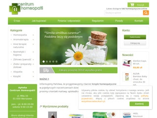 CentrumHomeopatii.pl krople homeopatyczne