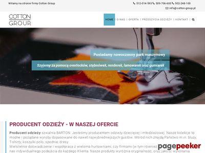 Odzież reklamowa Łódź