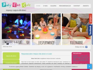 BABY CLUB CAFE zabawy na kinderbal łódź