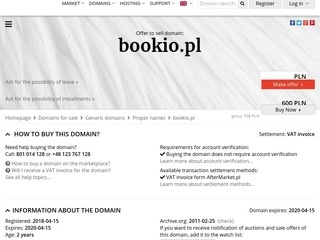 Bookio.pl - ebooki na Amazon Kindle