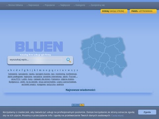 Baza firm Bluen.pl