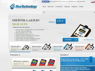 Blue Technology- mierniki lakieru