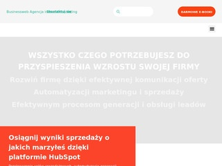 Marketing internetowy BusinessWeb Warszawa
