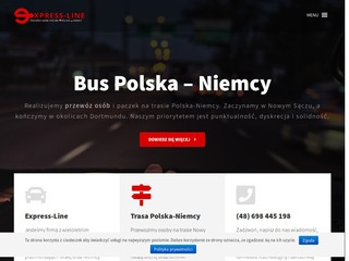 ExpressLine – Bus do Niemiec