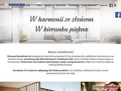 Remonty - Warszawa - montaż rolet, okien - Donatex