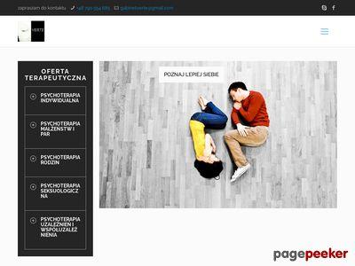 Psychoterapia par w mieście Kraków - Gabinet Verte