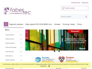 FaberTec folie ploterowe on-line