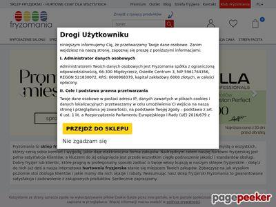 Sklep fryzjerski online