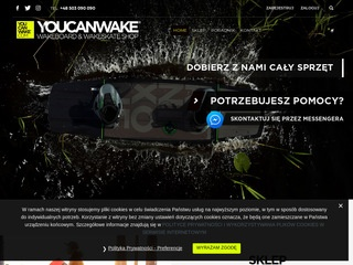 Sklep wakeboardowy - you can wake shop