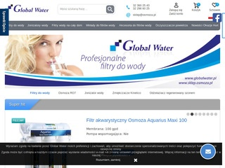 GLOBAL WATER woda jonizowana