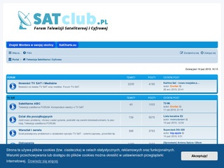 Forum Techniki Satelitarnej Sat Club