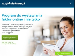 Program do faktur online na SzybkaFaktura.pl