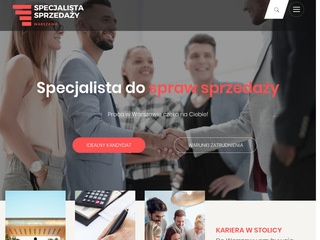 Praca Specjalista ds. Sprzedaży