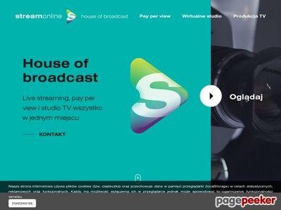 StreamOnline - transmisje online Warszawa