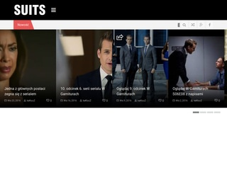 Suits - W garniturach