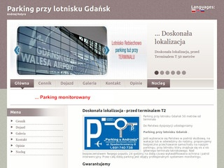 Parking terminal 2 Gdansk lotnisko