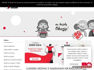 Pyszne-krowki.pl - cukierki z logo