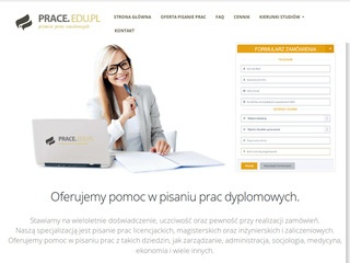 Prace magisterskie