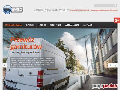 ABC PRZEPROWADZKI-TRANSPORT-KRAKÓW-Tel:12/636-61-63