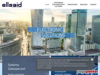 Ellsaid systemy teletechniczne Warszawa - zabezpieczenia, telekomunikacja