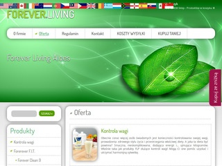 Oferta sklepu - Forever Living Products