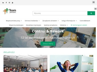 E-learning, Platforma e learningowa - TeamPrevent.pl